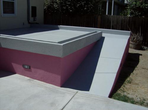 concrete deck #2