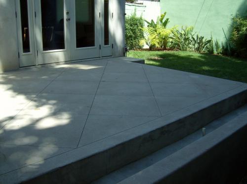 concrete deck #1
