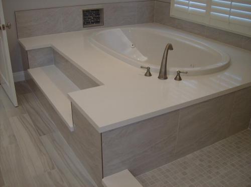 floating cement bathroom